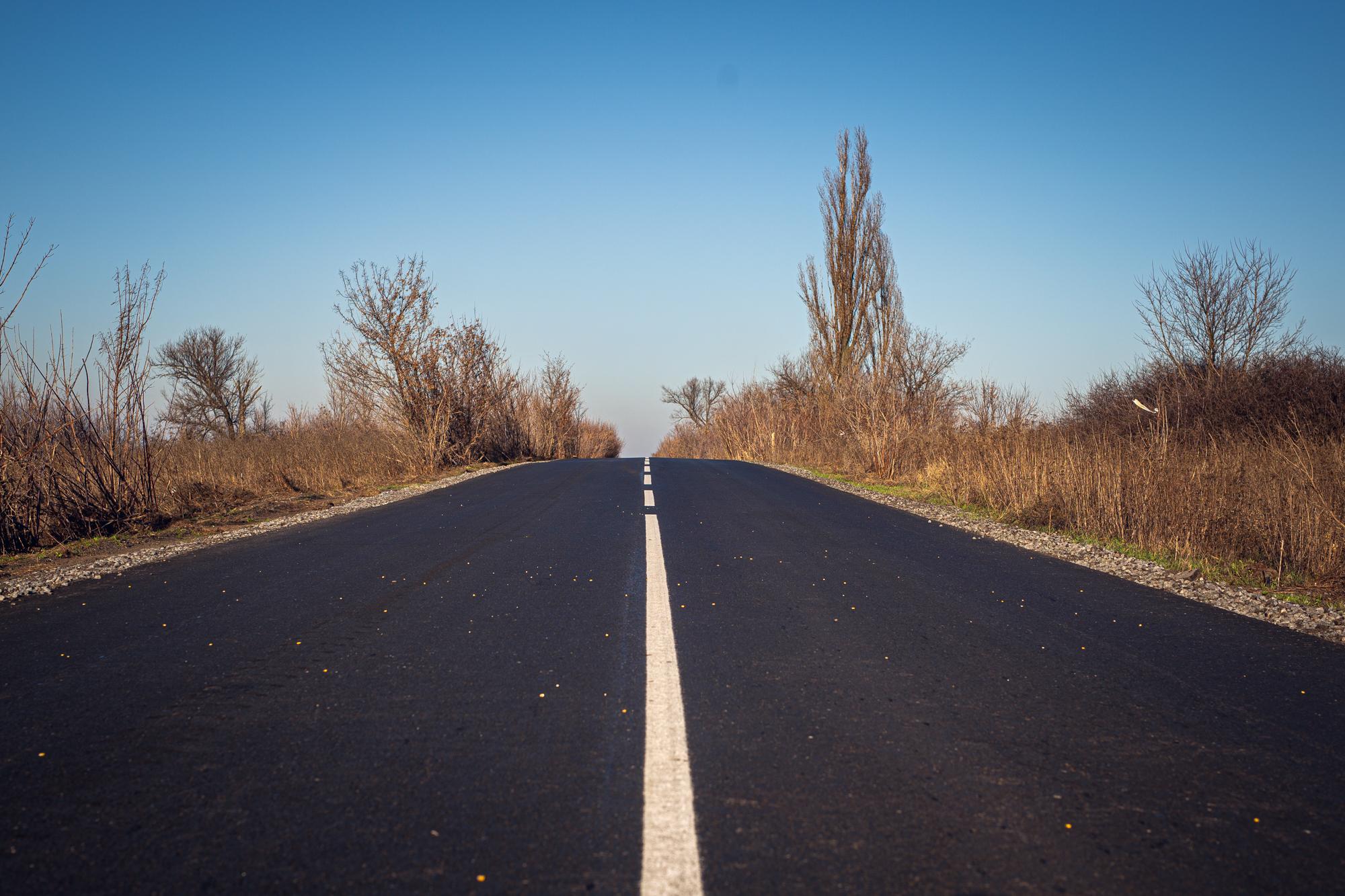 На Дніпропетровщині відремонтували ще майже 8 км дороги Зелене-Богданівка-Богуслав