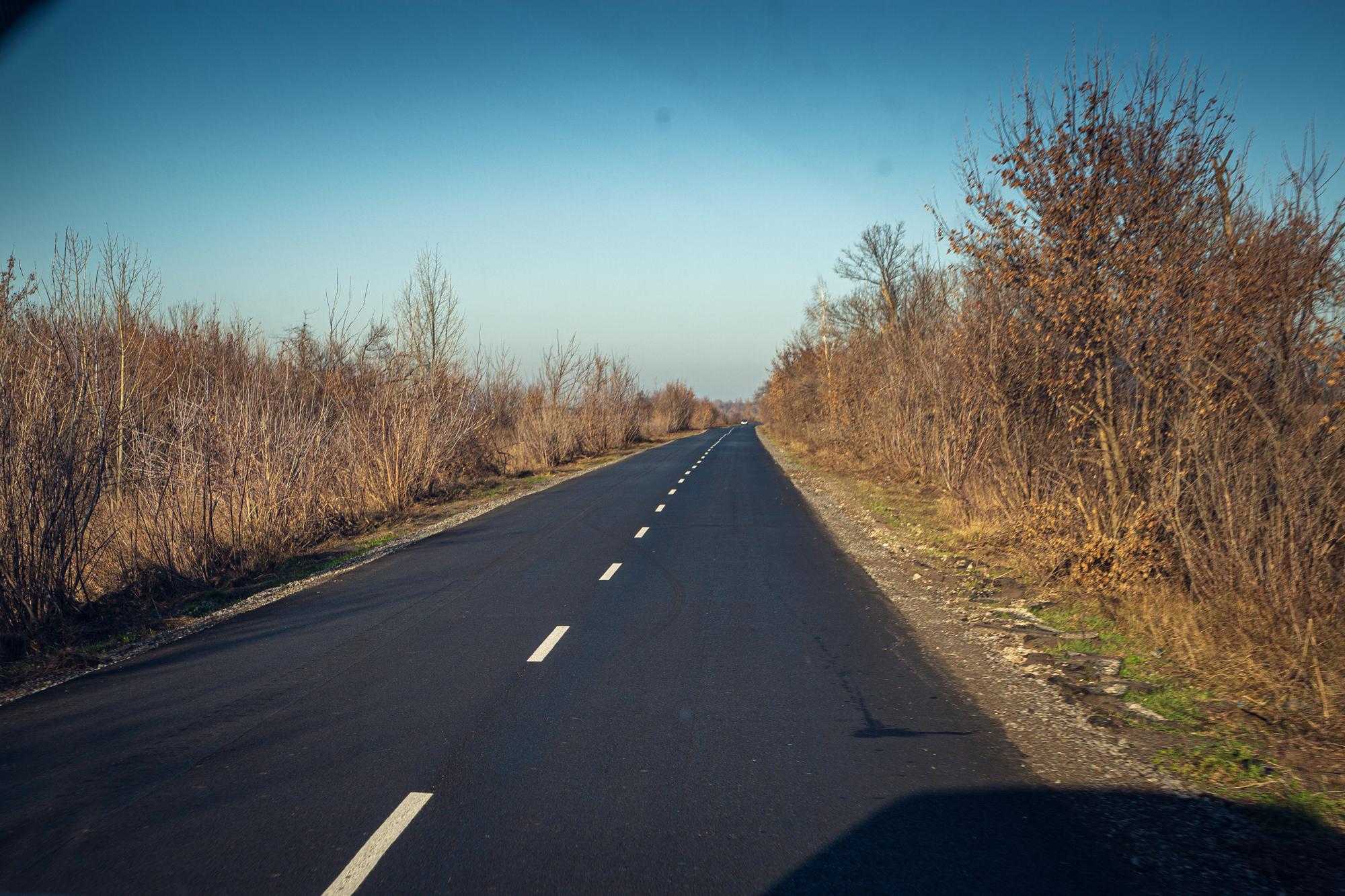 Загальна протяжність дороги – 33 кілометри