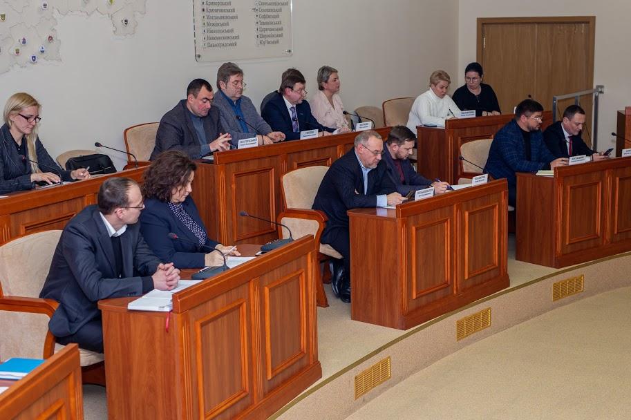 ..керівники структурних підрозділів облдержадміністрації