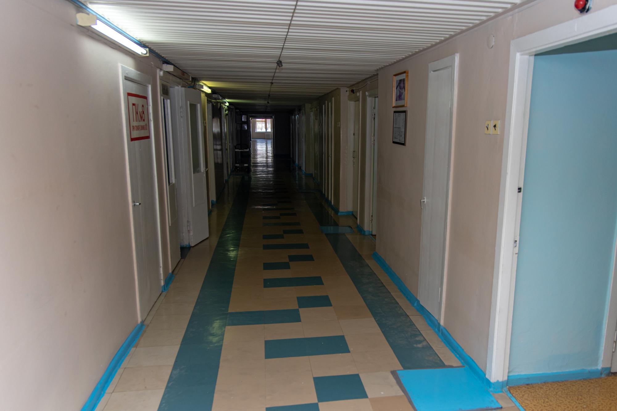 У лікарні обслуговують жителів Жовтих Вод, П'ятихатського району та міста Вільногірськ