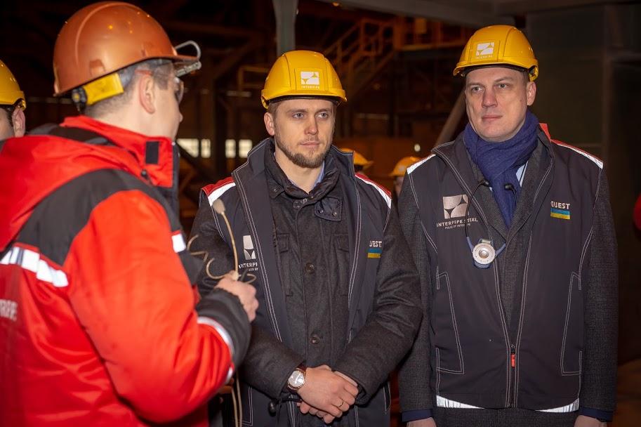 Олександр Бондаренко побував на сучасному сталеплавильному комплексі