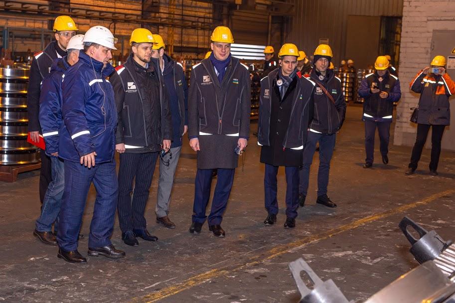 Очільник області ознайомився і з виробництвом залізничної продукції на Інтерпайп НТЗ