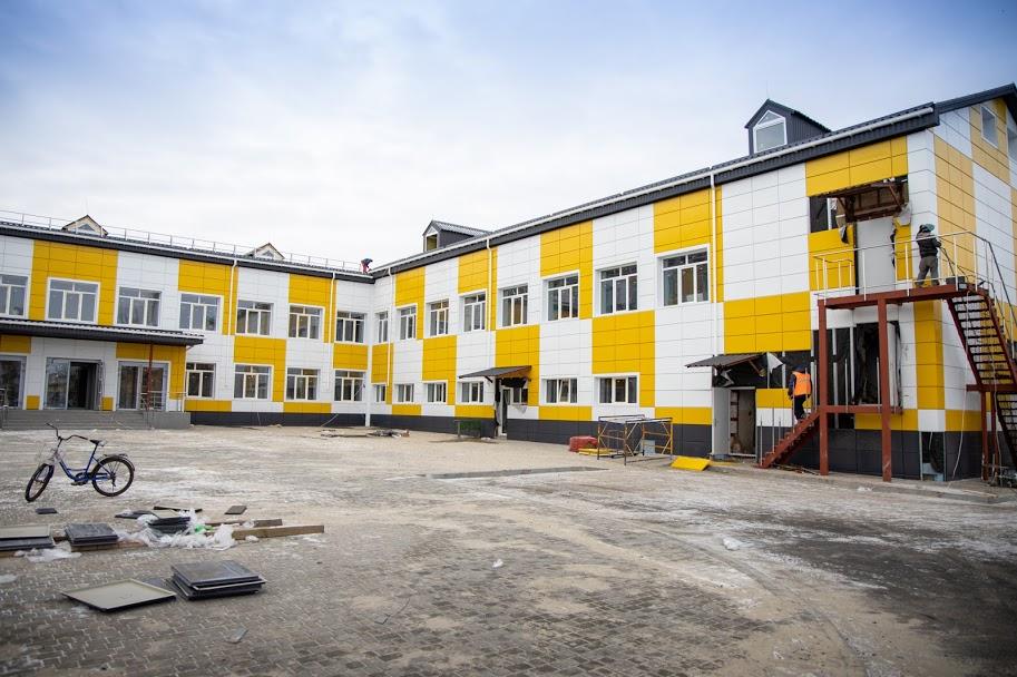 Дніпропетровська ОДА реконструює Перещепинську школу №1