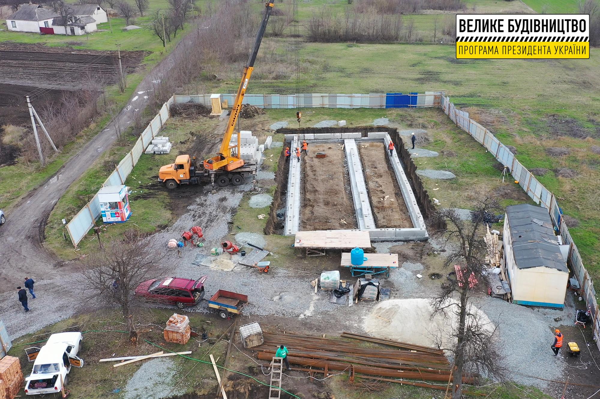 На території передбачили резервуари для питної і технічної води