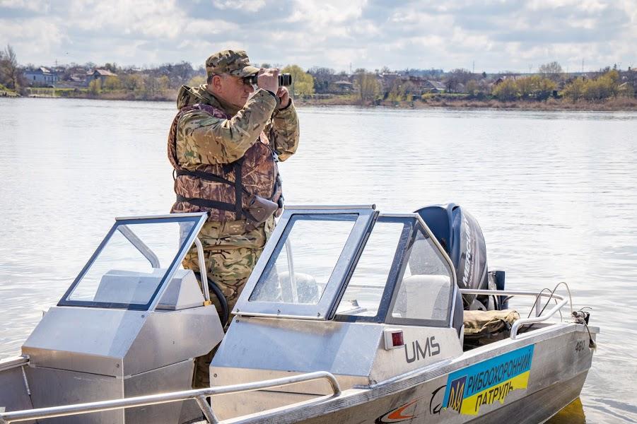 За дотриманням нерестових заборон пильно слідкують патрулі