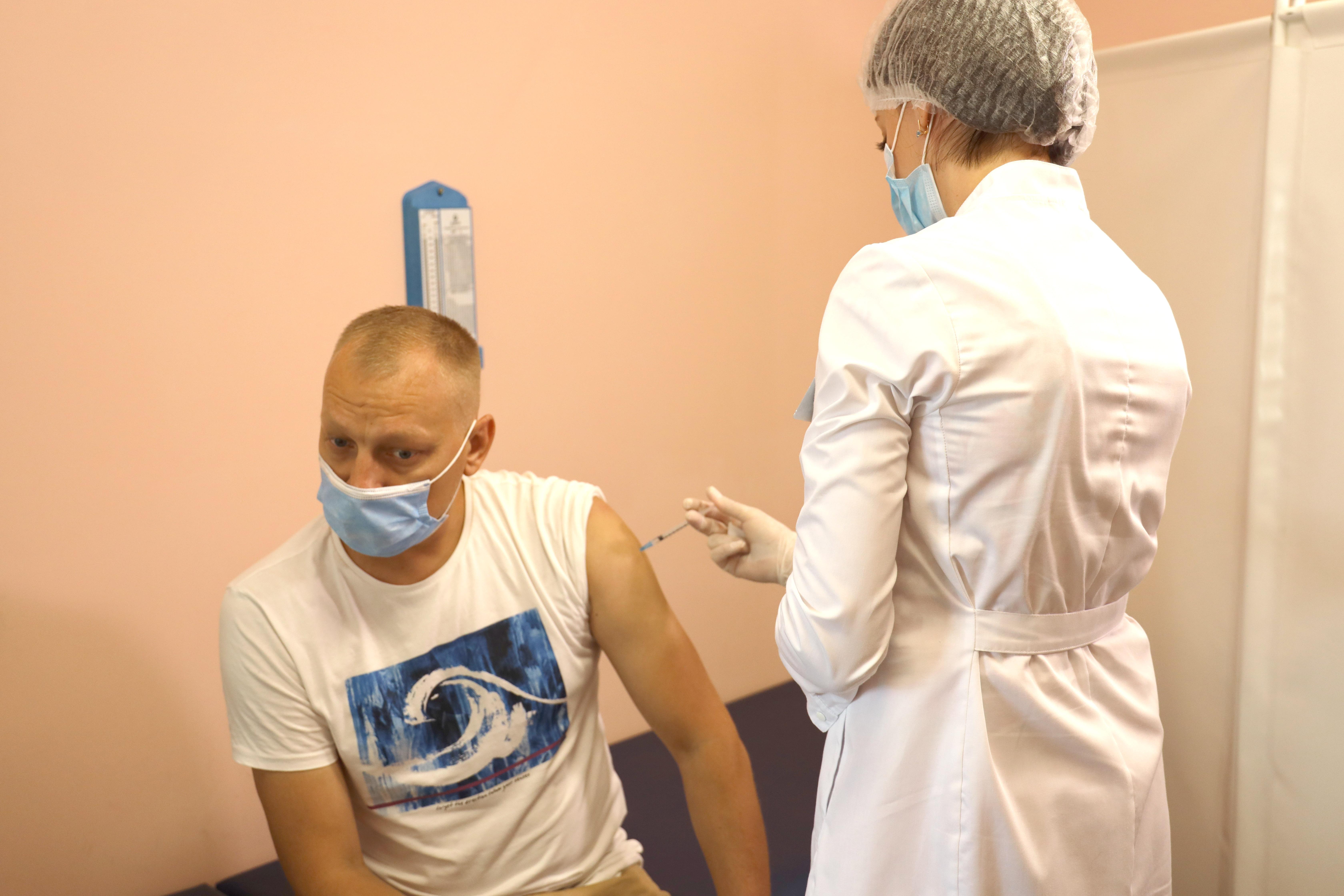 Після огляду лікаря - вакцинація