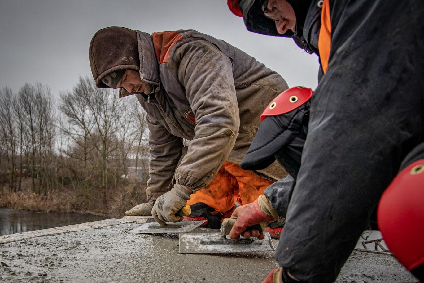Основні бетонні роботи майже завершені