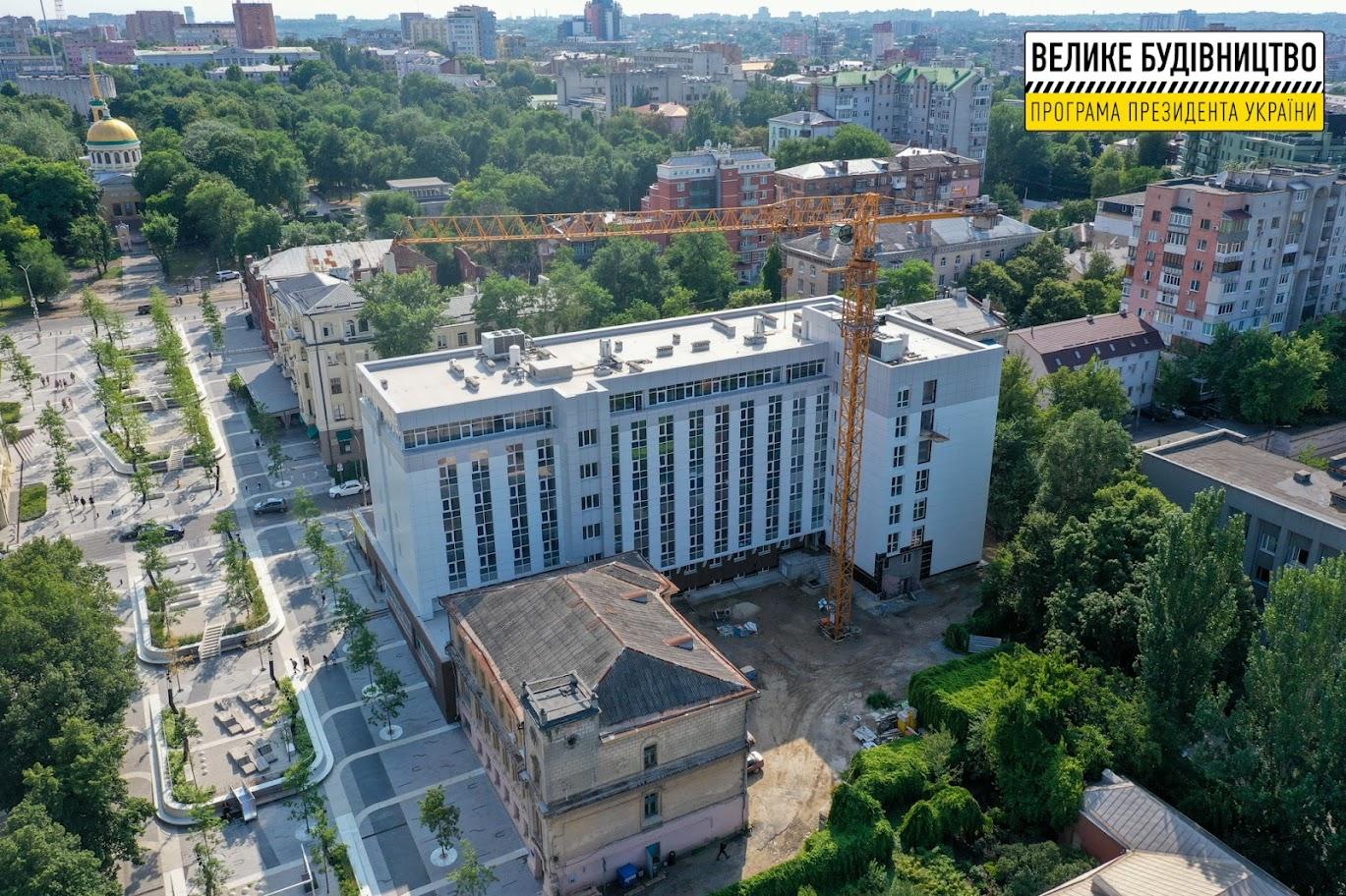 Лікарня – у центрі Дніпра