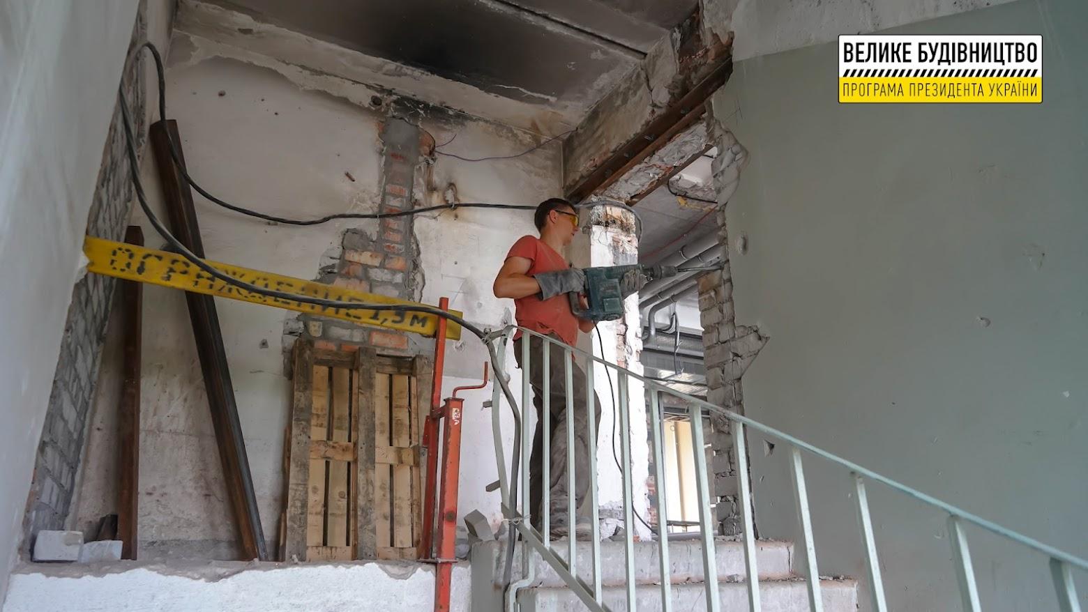Реконструкція повністю перевтілить лікарню