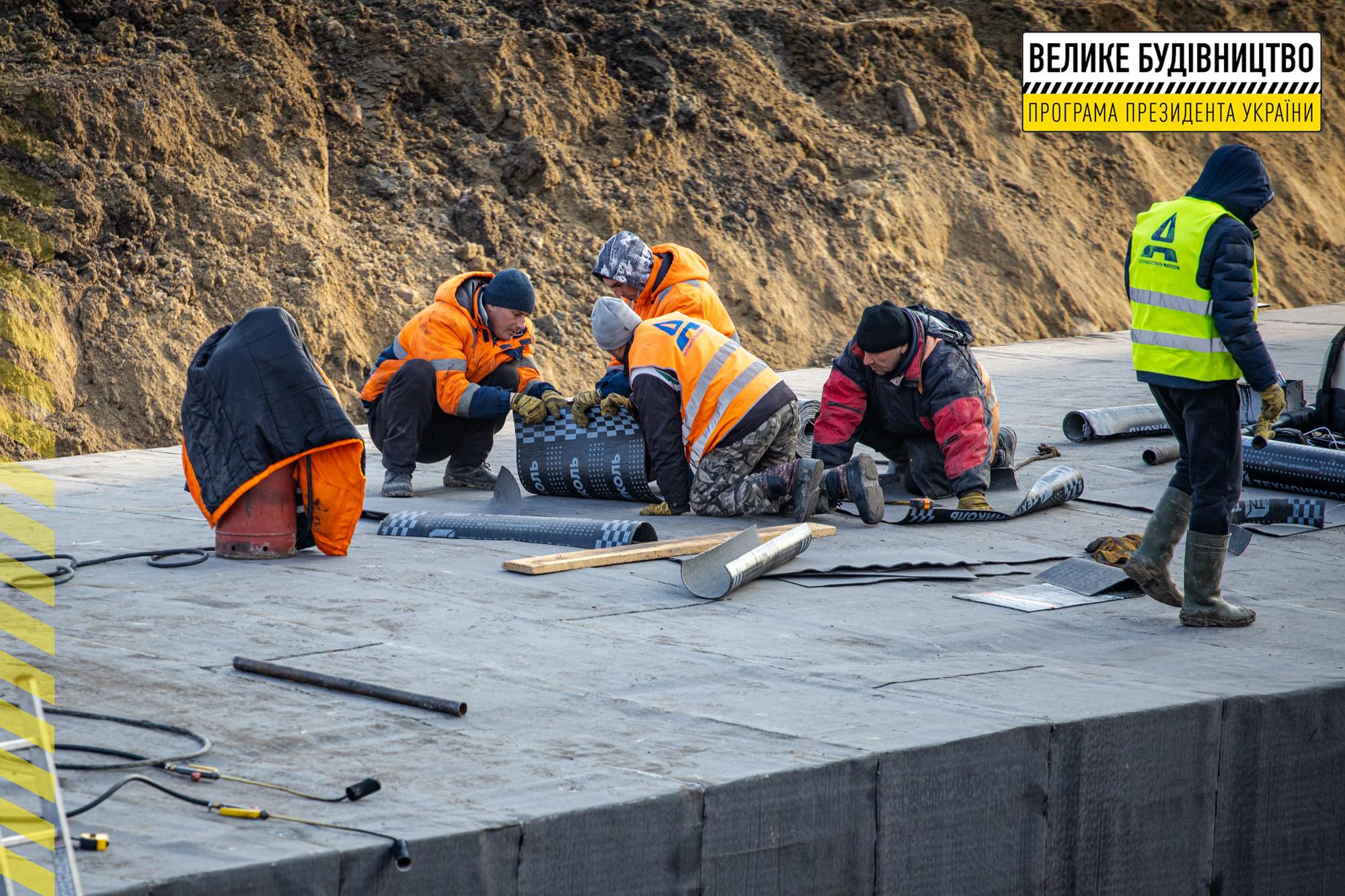 Будівництво транспортної розв'язки та мосту