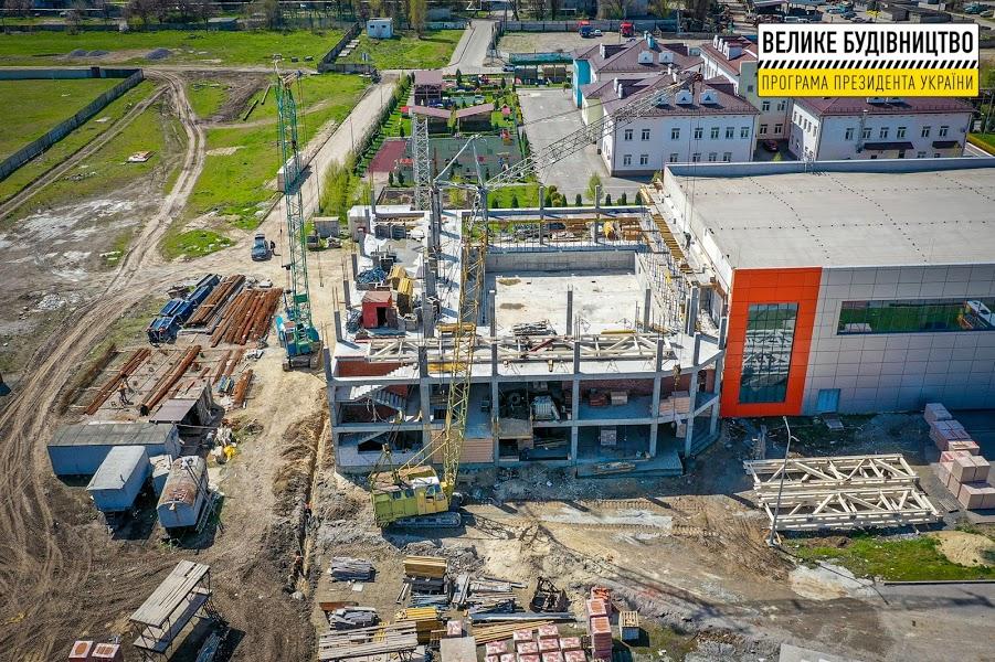 У 2018-му у Слобожанському відкрили збудований «з нуля» спорткомплекс