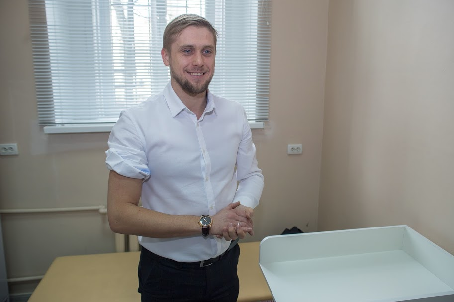 Олександр Бондаренко «Всіх запрошую: прийдіть до амбулаторії та вакцинуйтеся. Це швидко та неболяче»