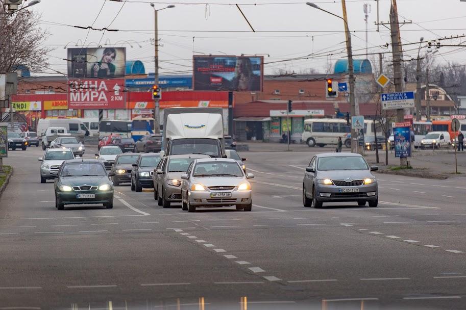 Центральні вулиці Кривого Рогу перевантажені
