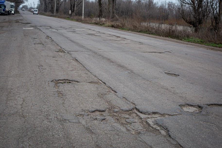 Автівкам «незручно» їхати такою дорогою,..