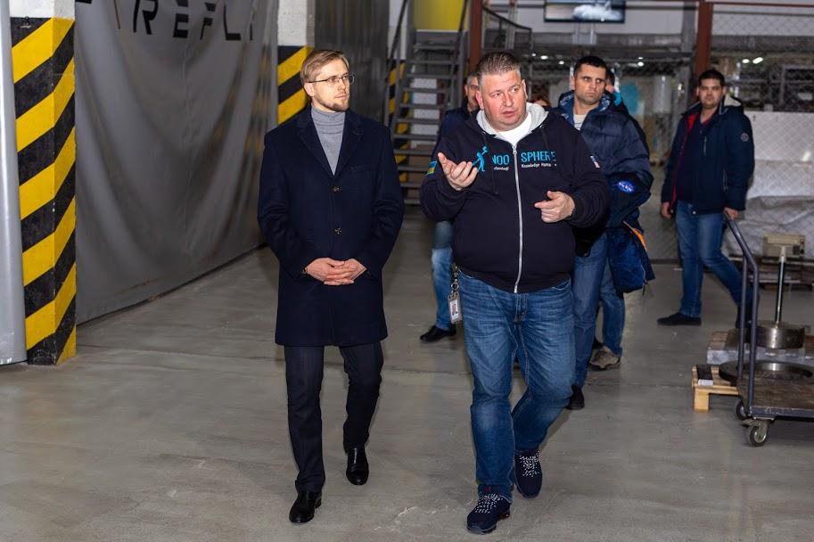 На одному з найпрогресивніших виробництв України побував очільник області Олександр Бондаренко