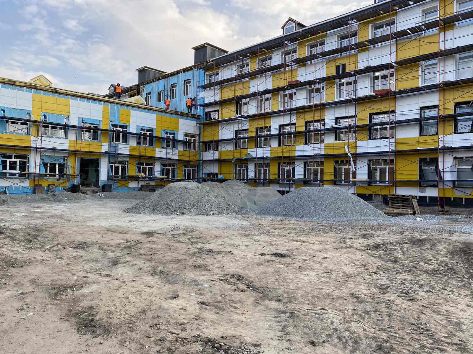 У Перещепиному завершують реконструкцію школи
