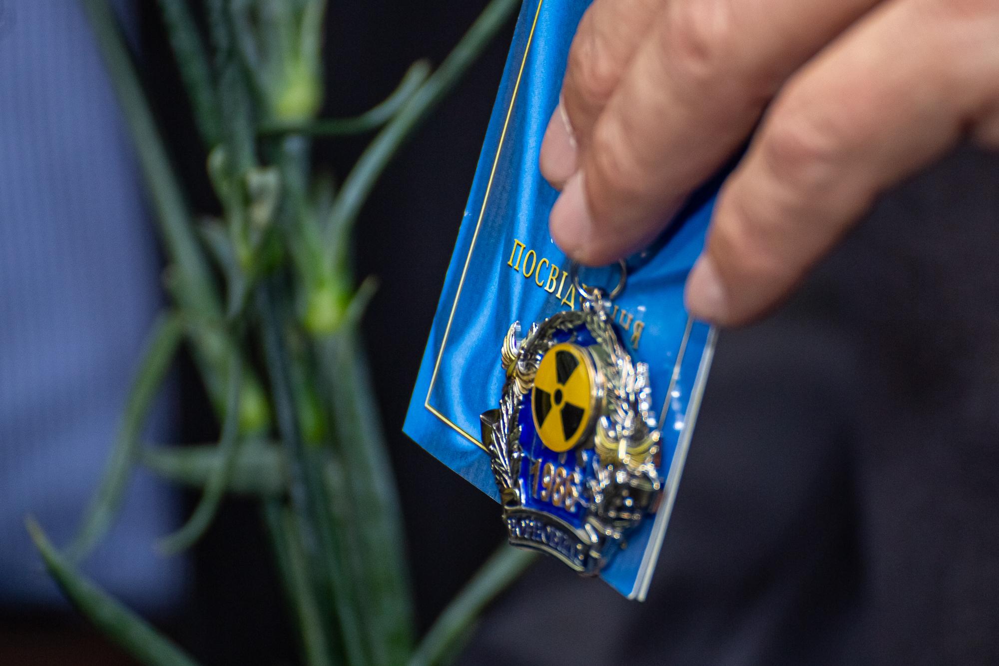 Почесний орден «Тим, хто врятував світ» отримав координатор  Чорнобильського руху Литви Кестутис Казлаускас
