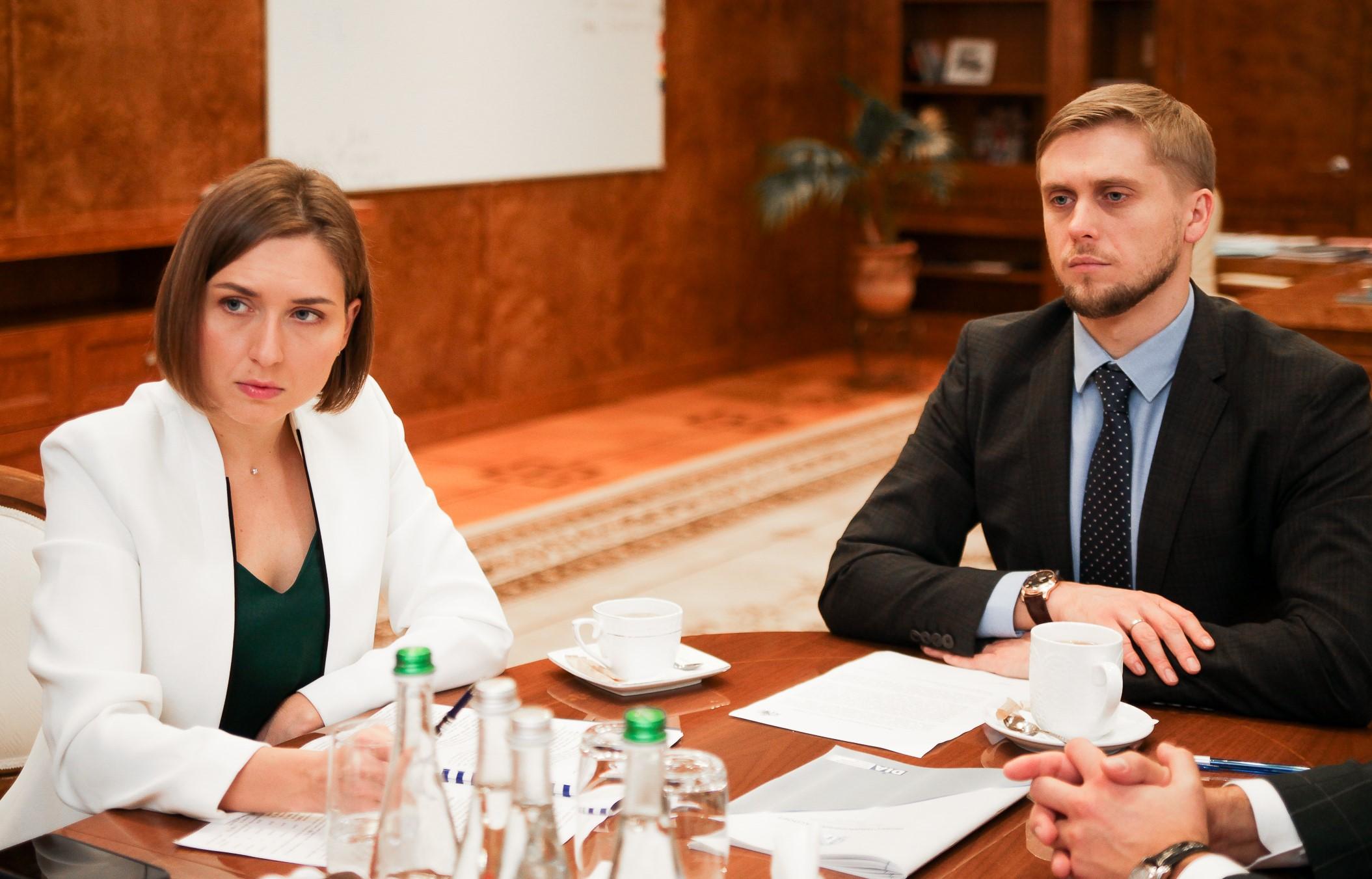 Ганна Новосад та Олександр Бондаренко зустрілися у Дніпропетровській ОДА