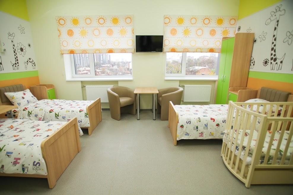 Педиатрический корпус больницы Руднева похож на современный детский сад