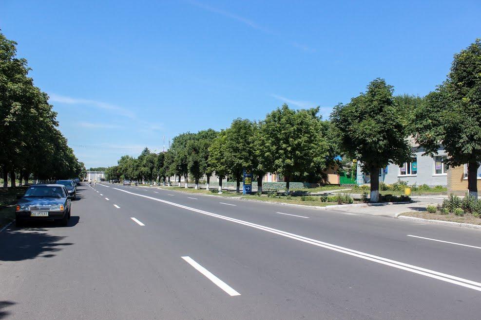 В Магдалиновке отремонтировали улицу Центральную
