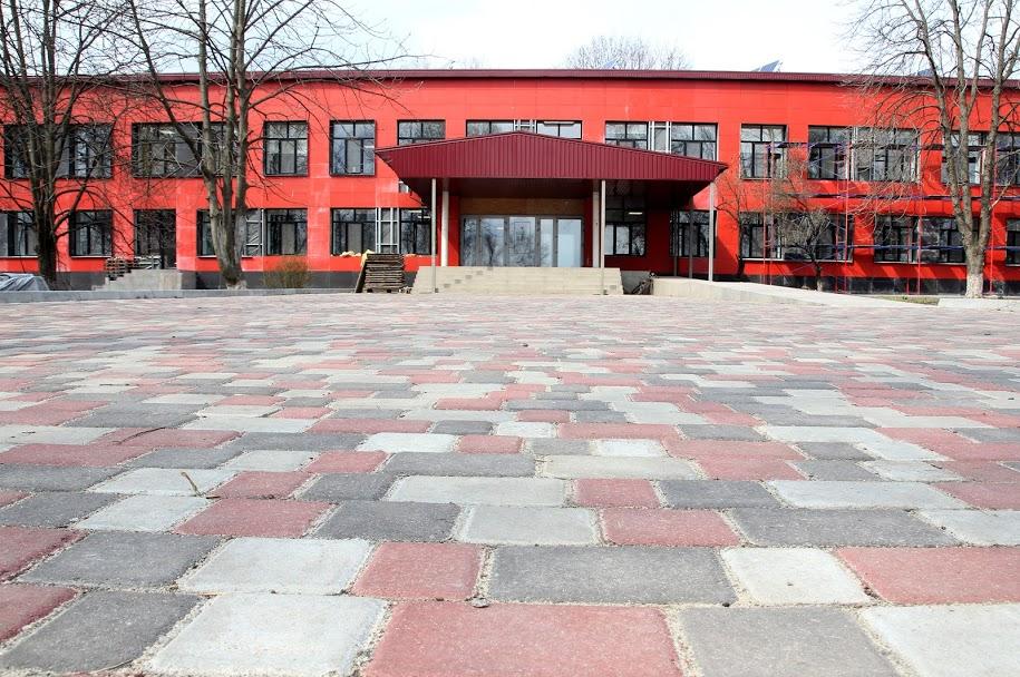 Дніпропетровська ОДА завершує реконструкцію Святовасилівської опорної школи