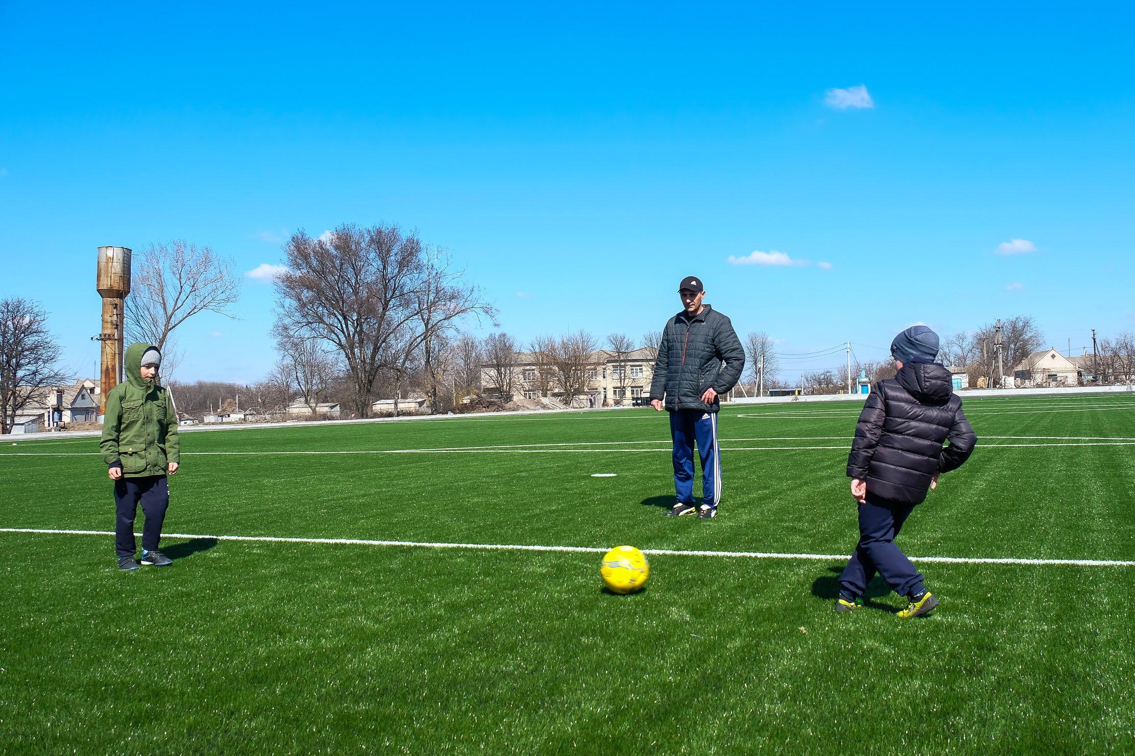 Наразі Дніпропетровська ОДА дарує друге життя майже 30 спортоб'єктам області.