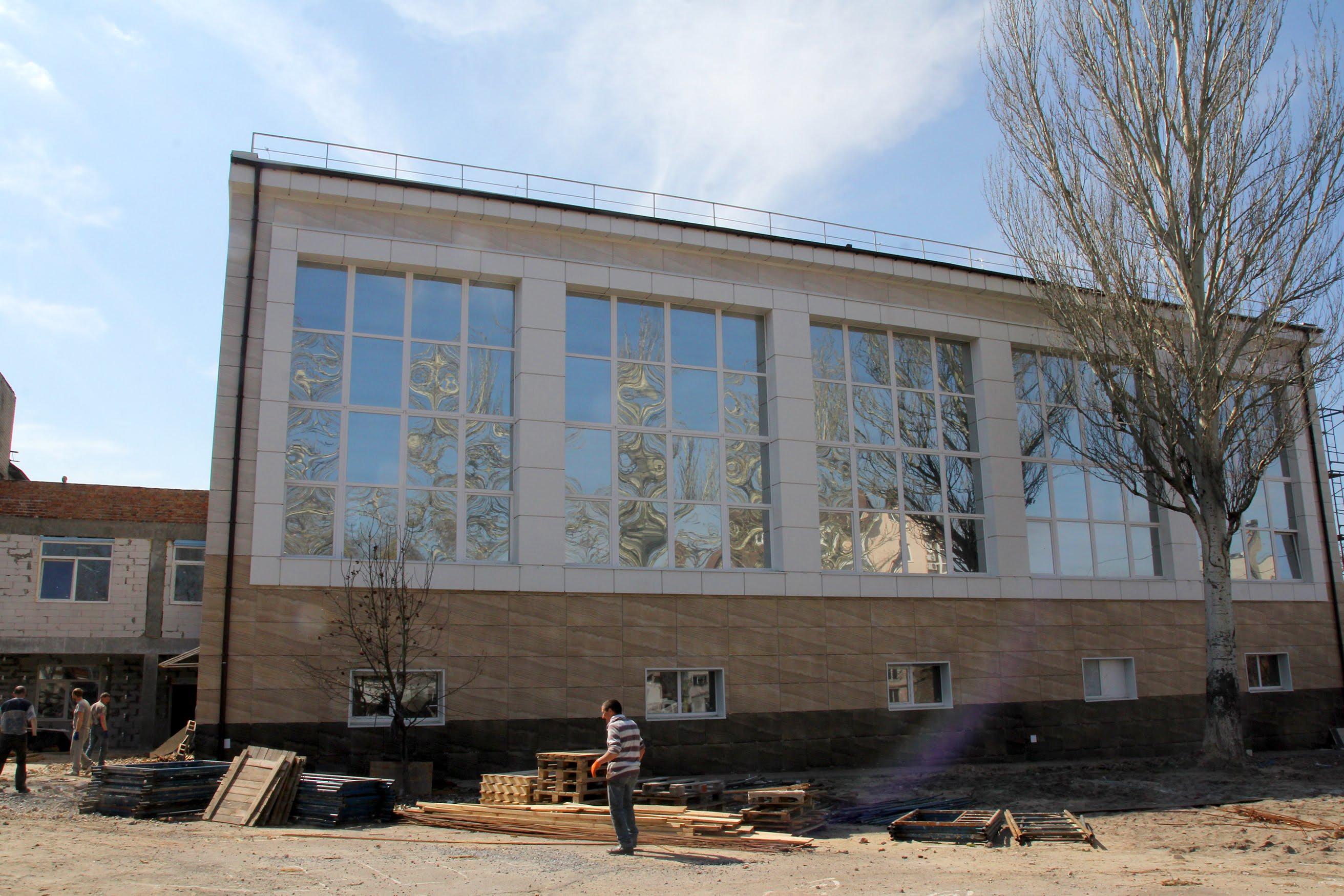 Сучасний спортивно-лікувальний комплекс для дітлахів створює Дніпропетровська ОДА