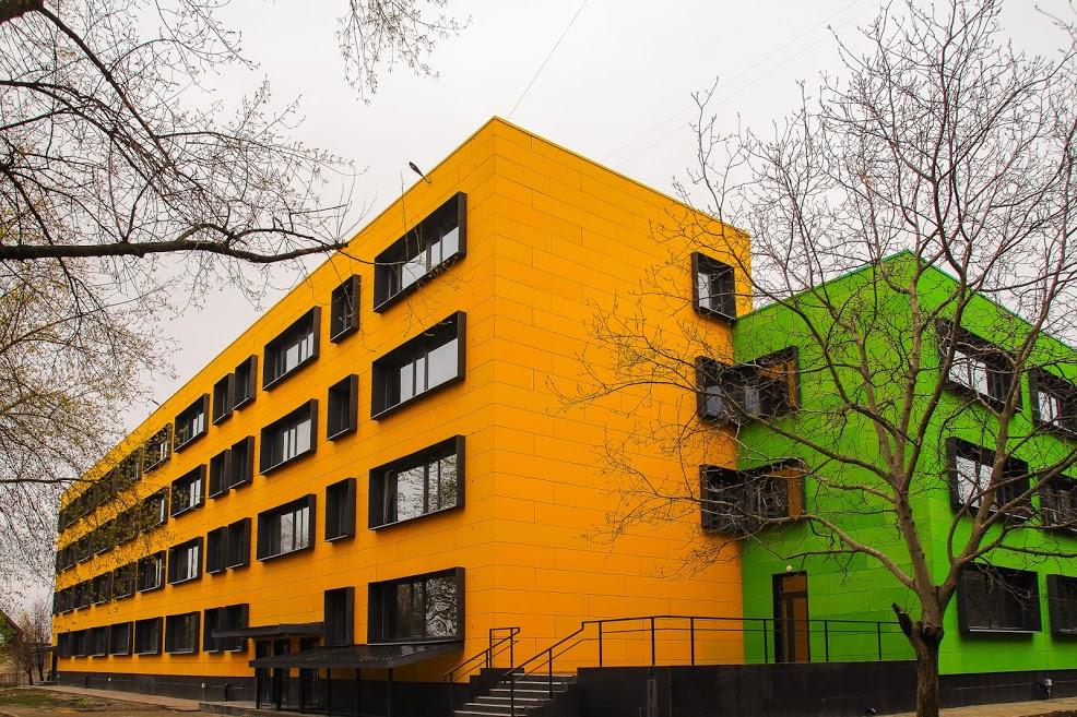 У Жовтих Водах відкрили найяскравішу школу України