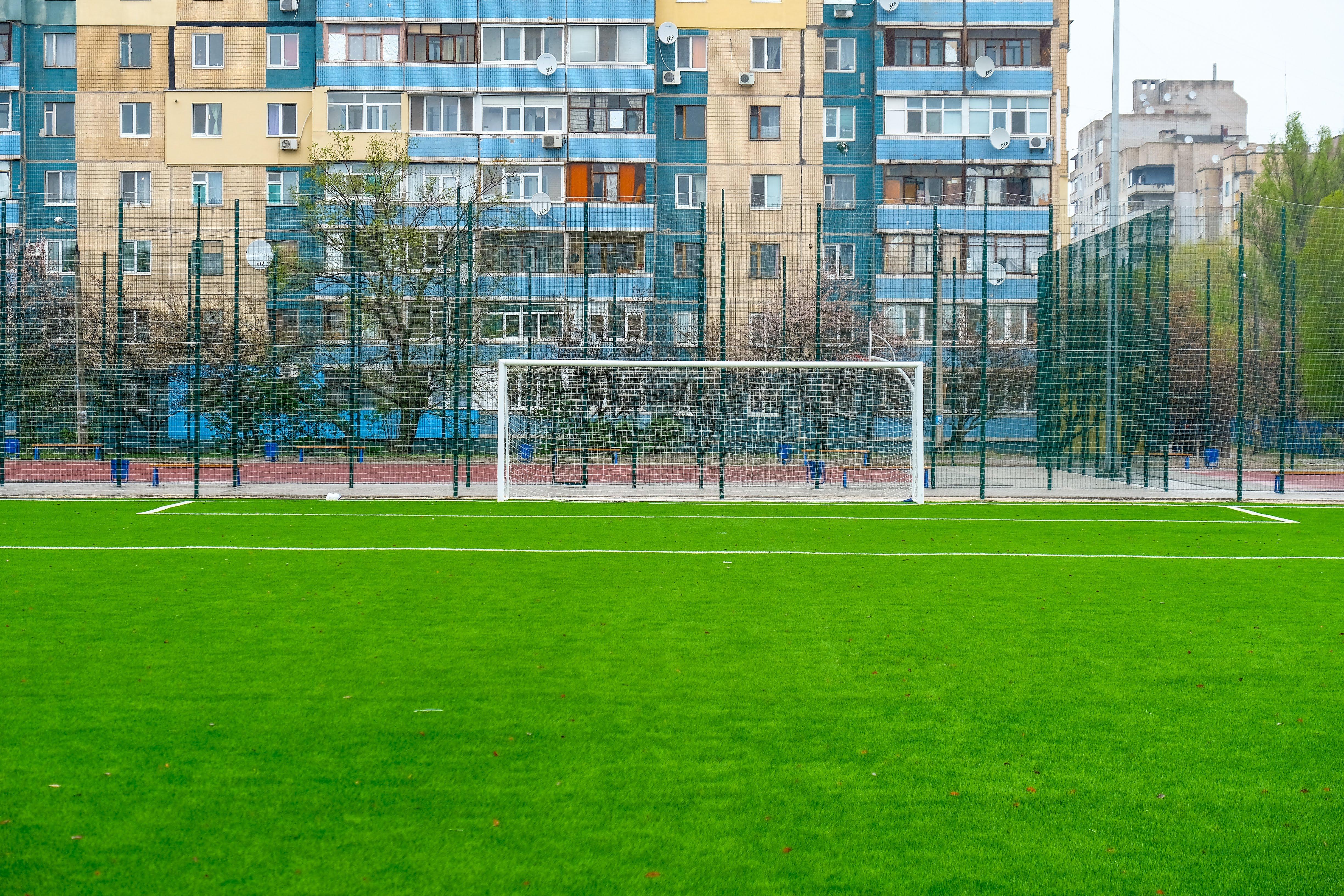 Професійне футбольне поле…