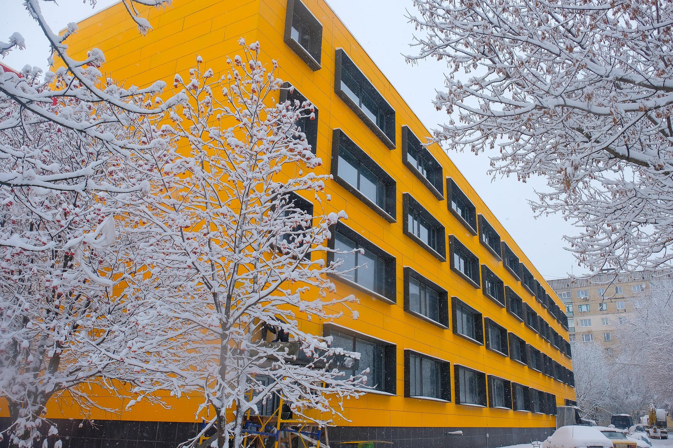 Так виглядає Жовтоводська школа №6 після реконструкції