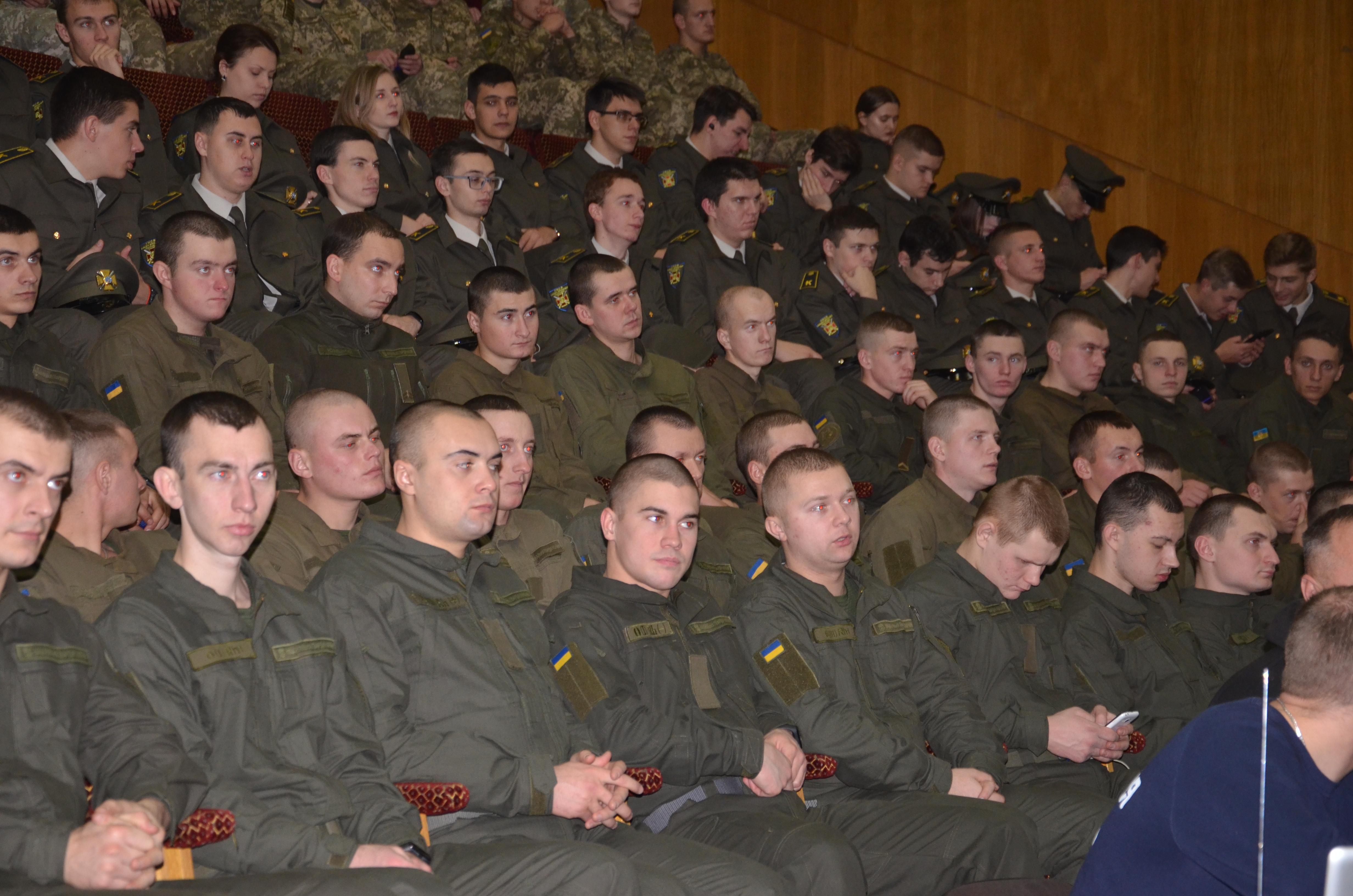 Свято організували до Дня Збройних Сил України