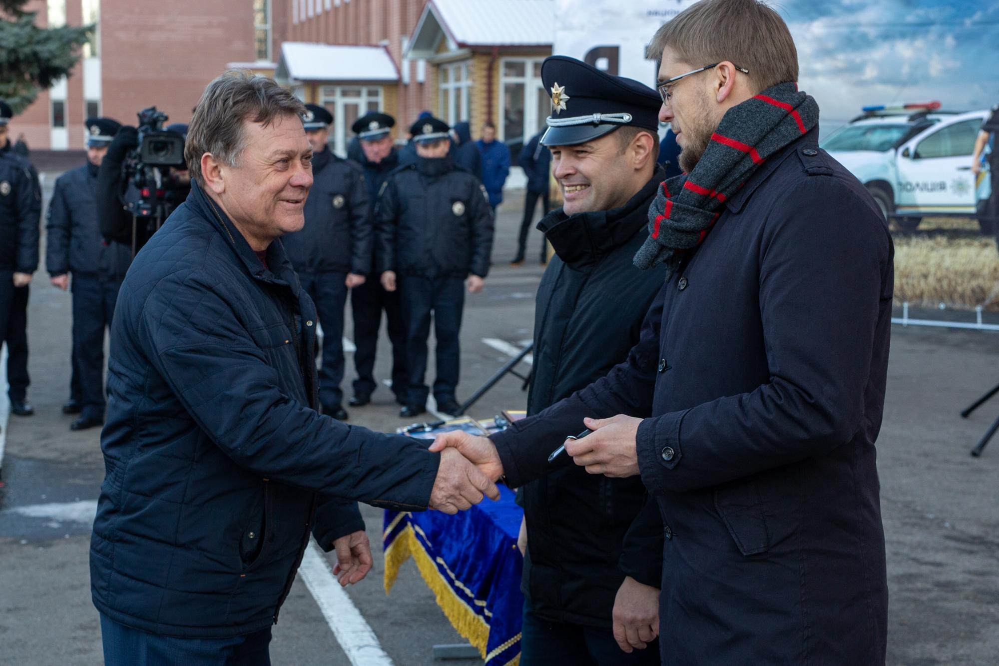 та заступник голови Національної поліції України Олександр Фацевич