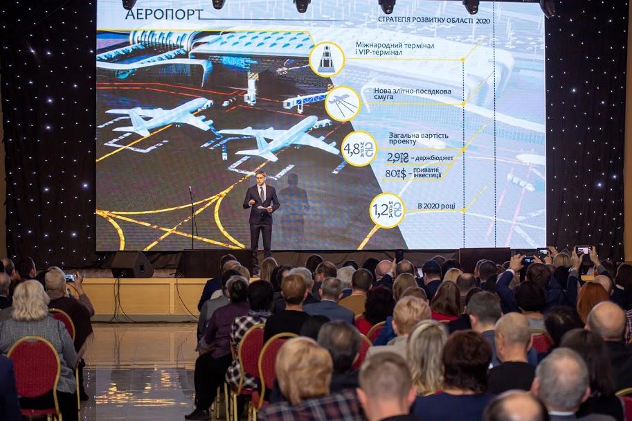Олександр Бондаренко презентував Стратегію розвитку Дніпропетровщини на 2020 рік