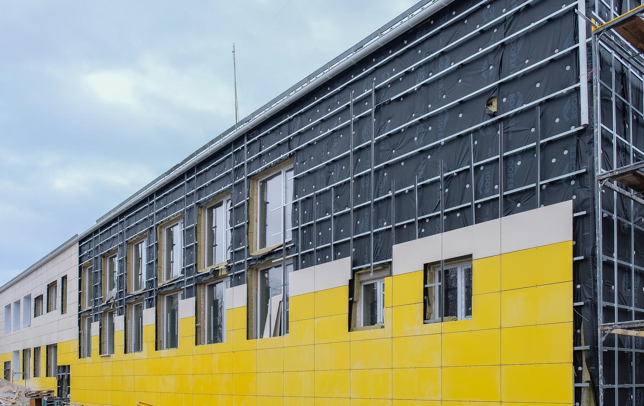 ...триває реконструкція опорної школи, якій понад 40 років.