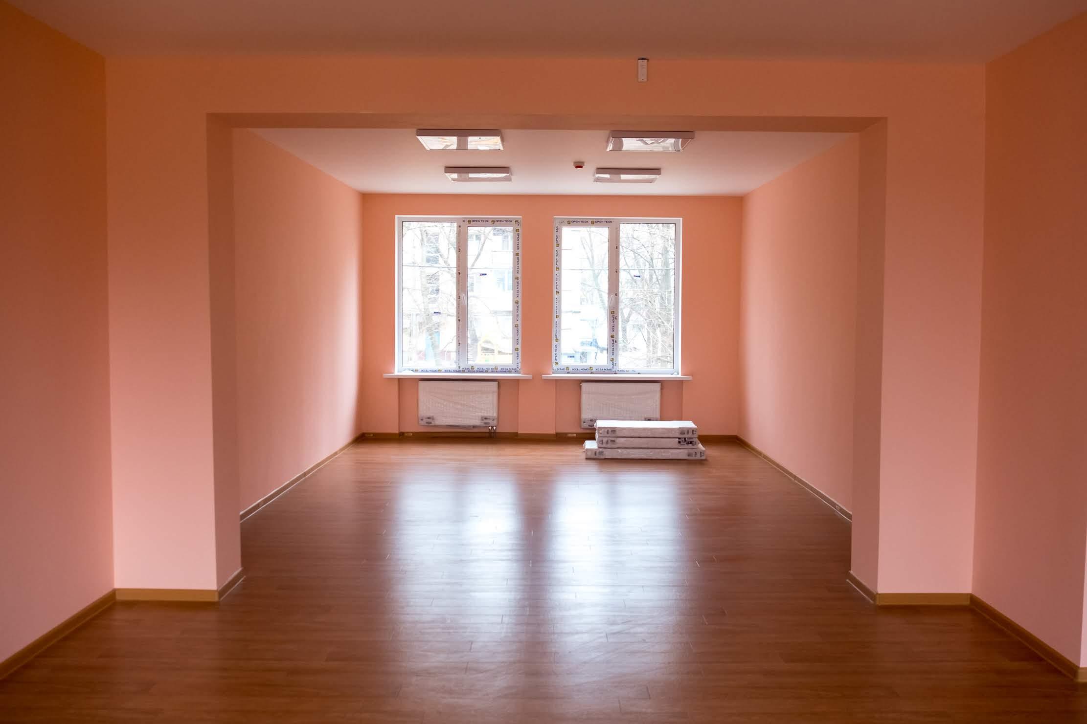 Просторі яскраві кімнати