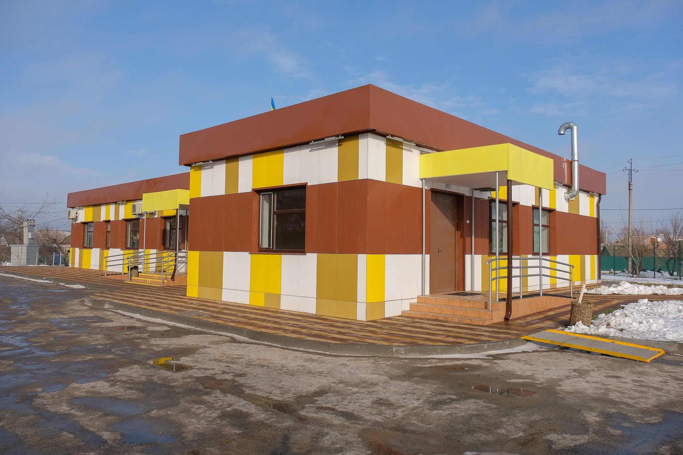 У Нікополі ДніпроОДА звела сучасну амбулаторію.