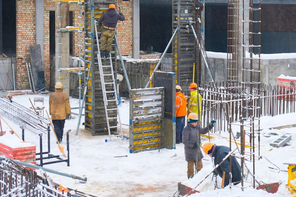 Нині будівельні роботи – у розпалі