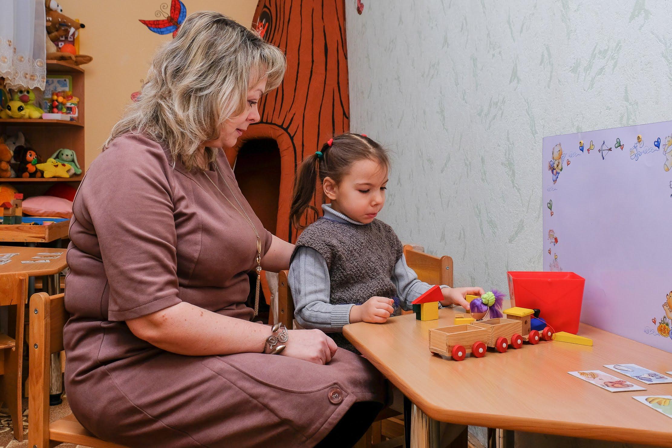 У січні 2018-го інклюзивну групу відкрили у дитсадку №340 Дніпра. Її відвідує особлива Надійка