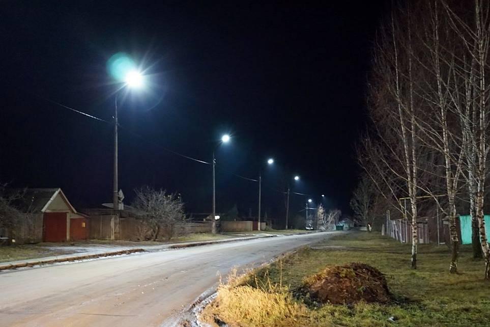 У ліхтарях району – енергозберігаючі лампи