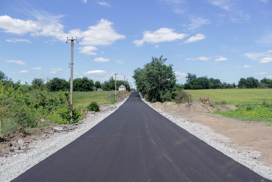 Загалом до кінця року в Новомосковському районі відремонтують 7 доріг