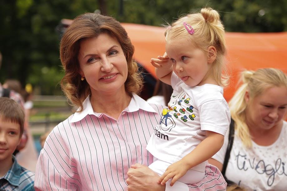 Перша леді запенила, що аналогічні парки з'являтимуться по всій Україні.