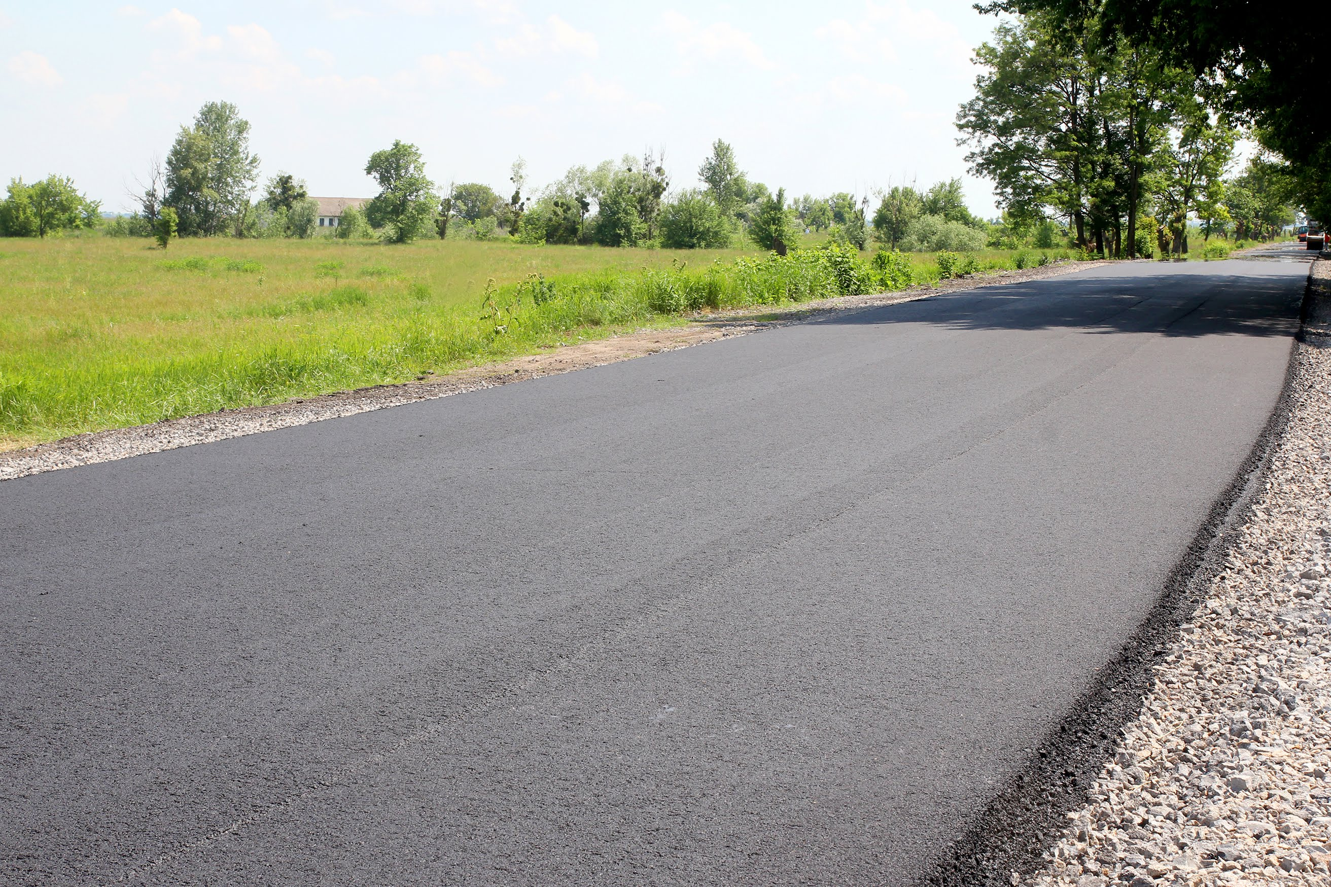 10-кілометрова ділянка між селами Орлівщина та Черкаське вже із якісним покриттям
