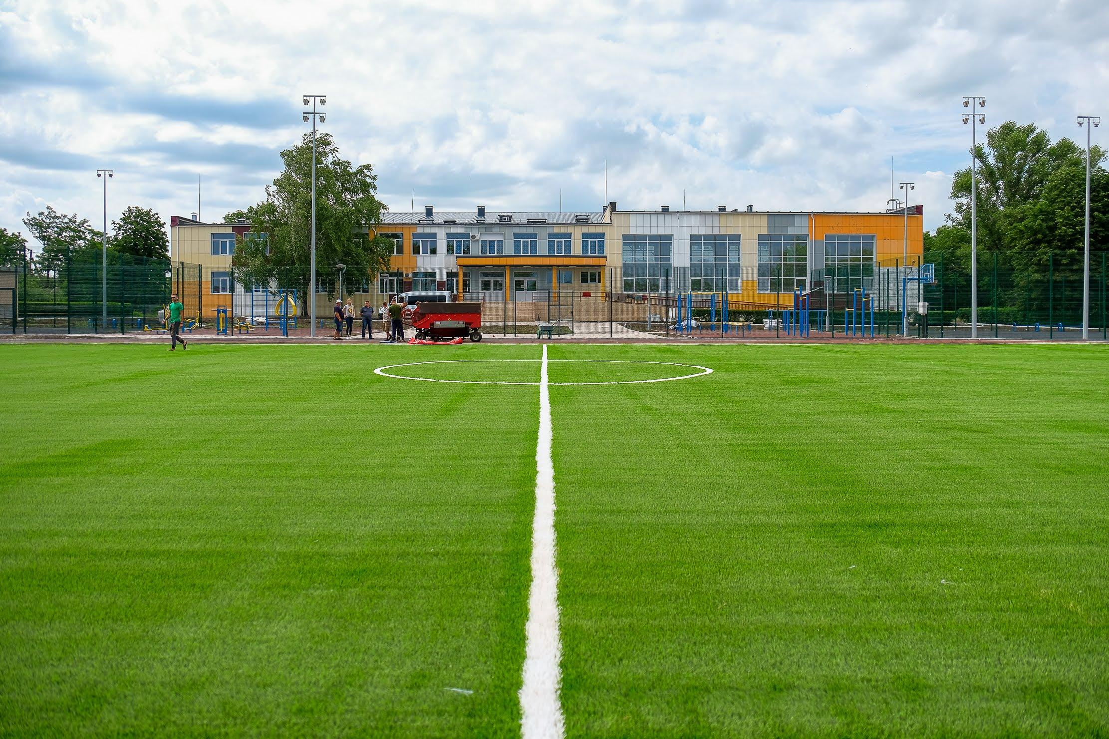 Спортивний простір європейського рівня – біля Межівської опорної школи №1
