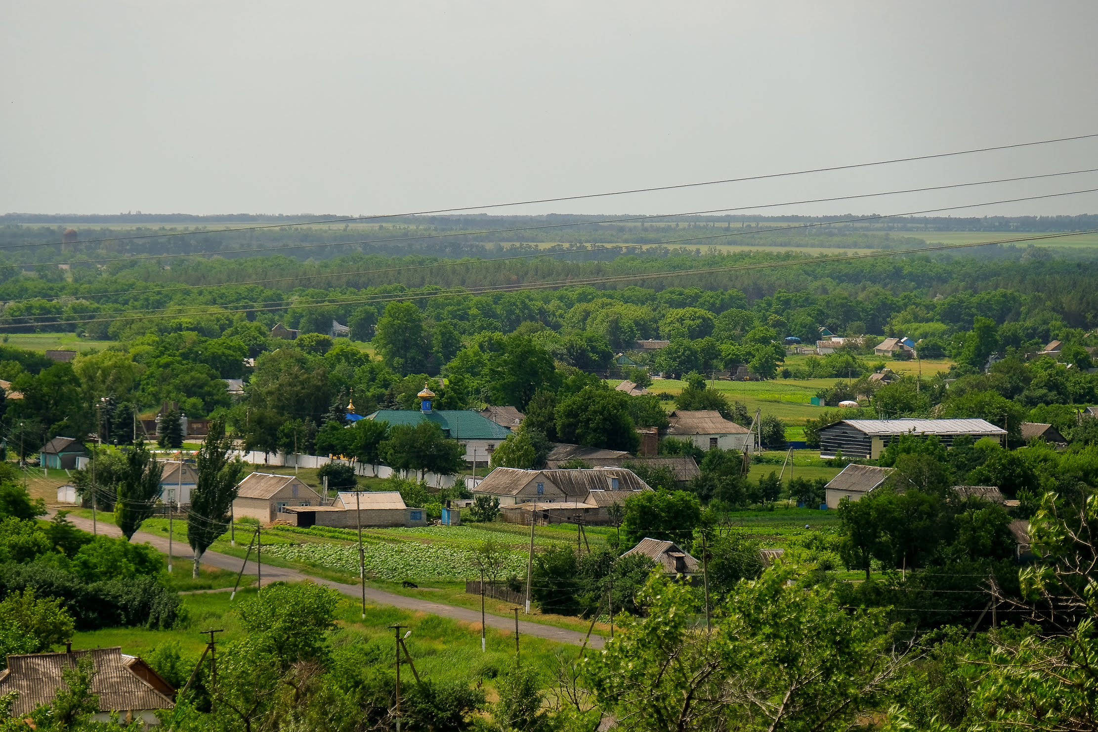 Будівля майбутньої амбулаторії «росте» прямісінько в центрі села Іванівка