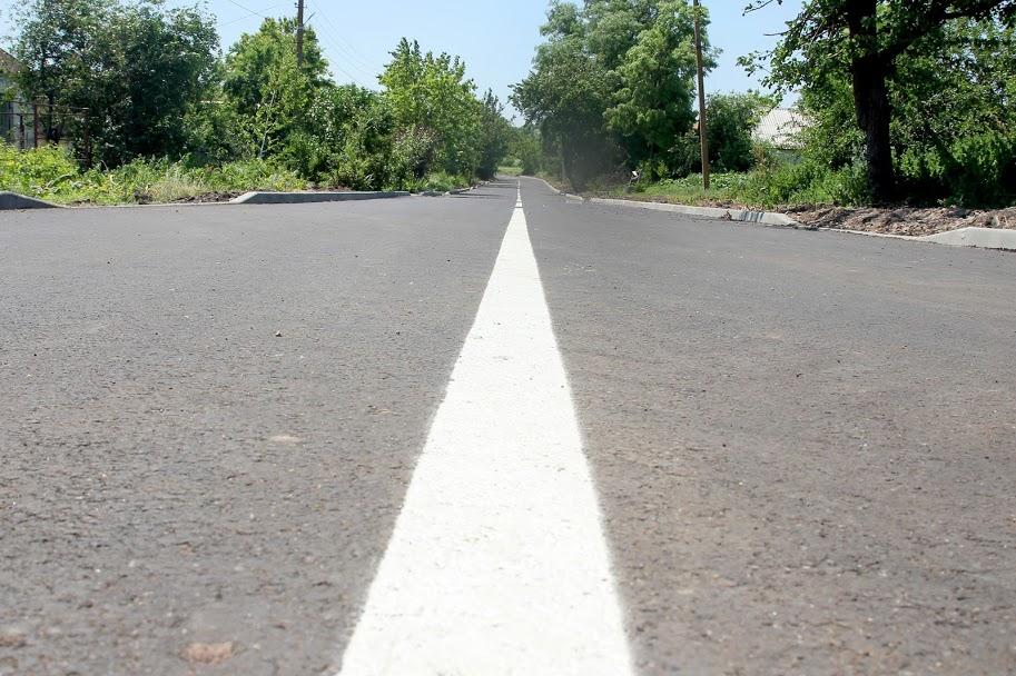Відремонтована дорога – із розміткою,..