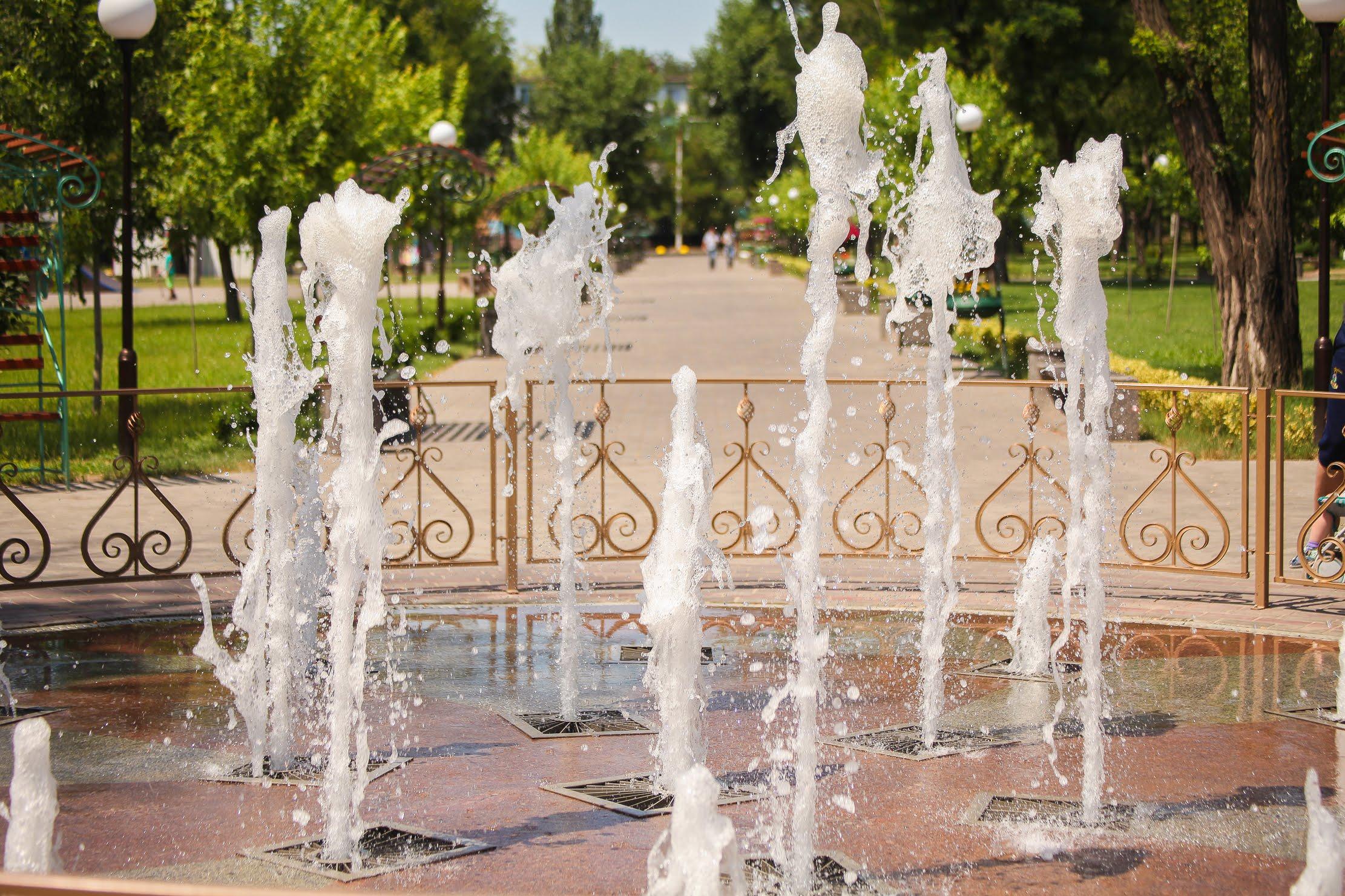 Музичний фонтан...