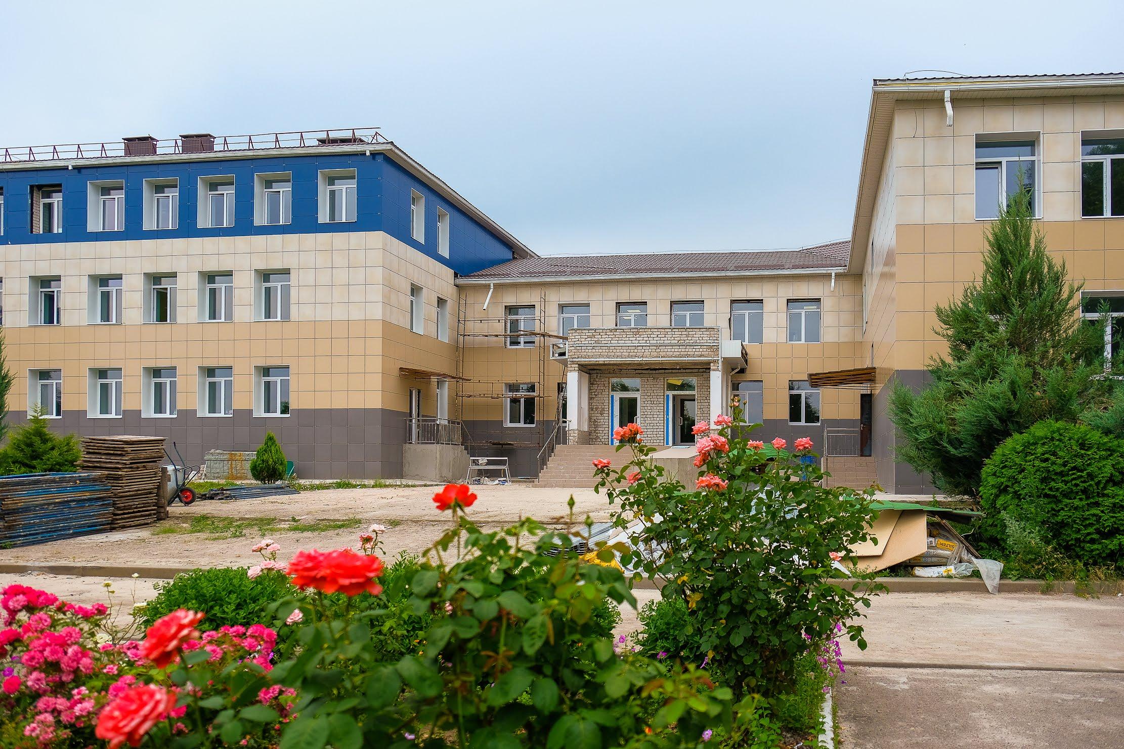 У Ганнівці Верхньодніпровського району реконструюють опорну школу