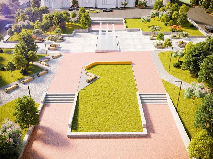 Вперше за декілька десятиліть центральна площа міста набуде сучасного вигляду
