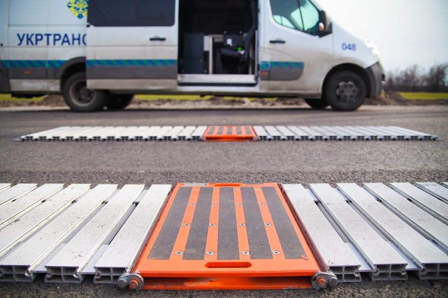 На Дніпропетровщині розпочали роботу нові вагові майданчики для вантажівок