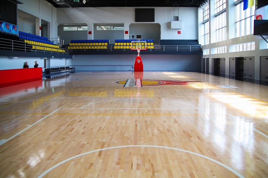 Центральний спортзал – для різних видів спорту